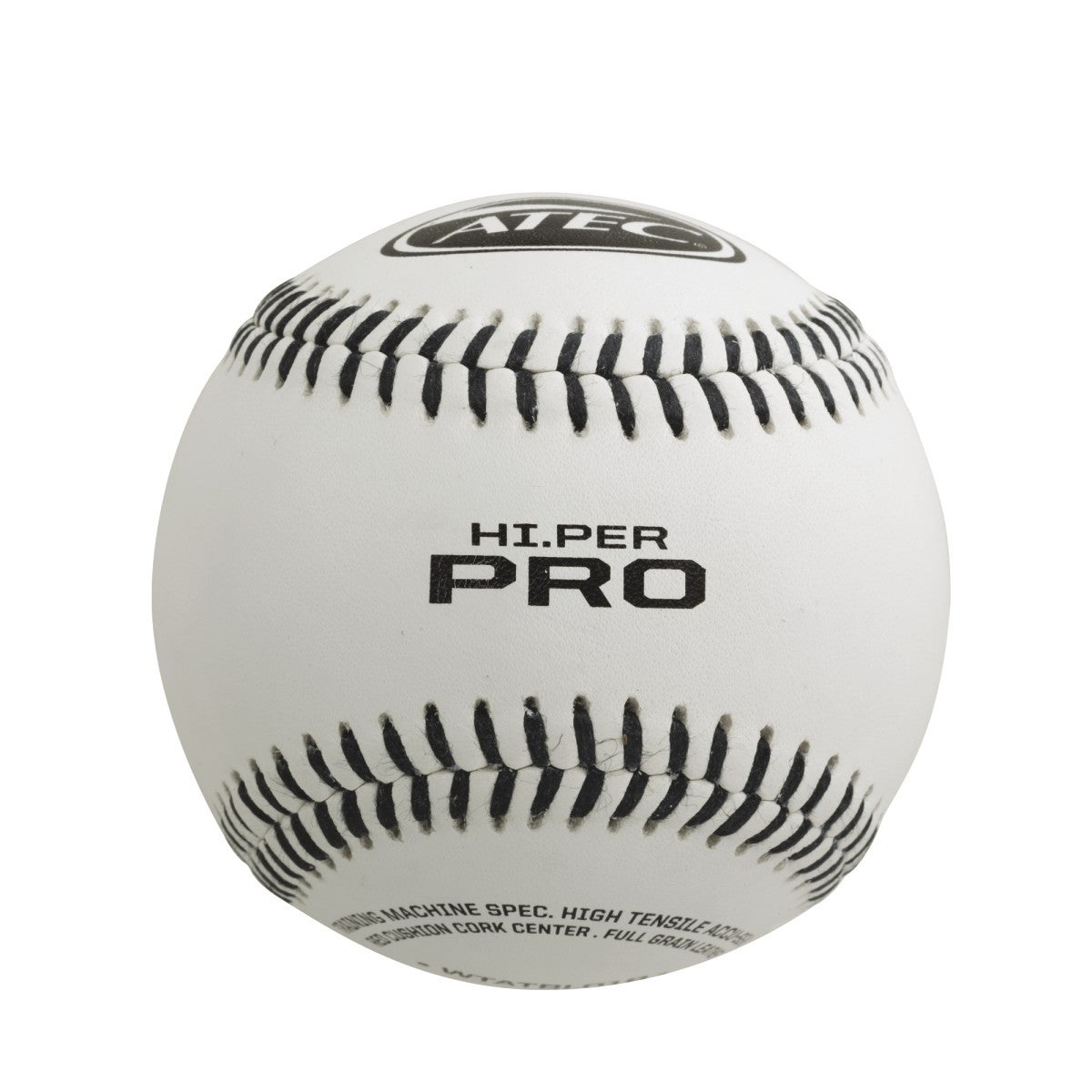ATEC Hi.Per Pro - Leather Flat Seam Baseball