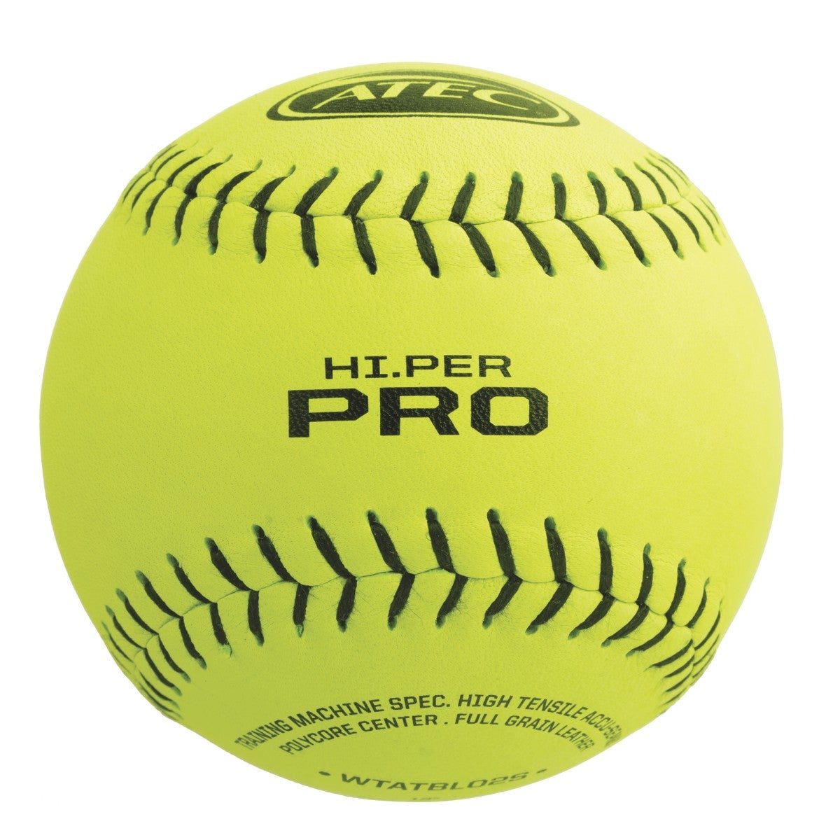 ATEC Hi.Per Pro - Leather Flat Seam Softball