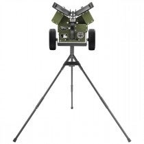 M3X Baseball Pitching Machine - On Tripod